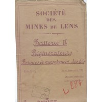 Plan rivage cokerie Mines de Lens